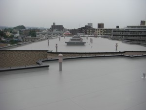 屋上状況写真